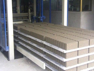 plastic pallets for brick stacking machine